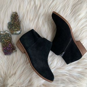 Gianni Bini Suede Ankle Boots